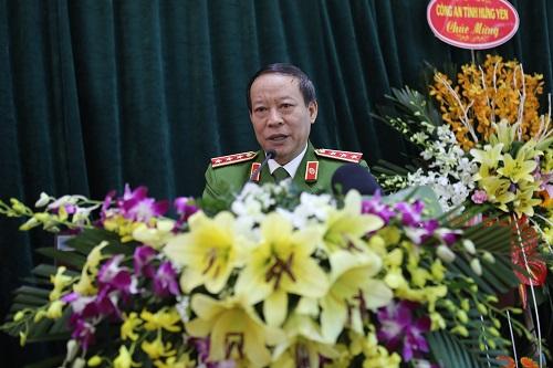 Thượng tướng Lê Quý Vương, Thứ trưởng Bộ Công an biểu dương thành tích xuất sắc của các cán bộ chiến sĩ trong các chuyên á.n.