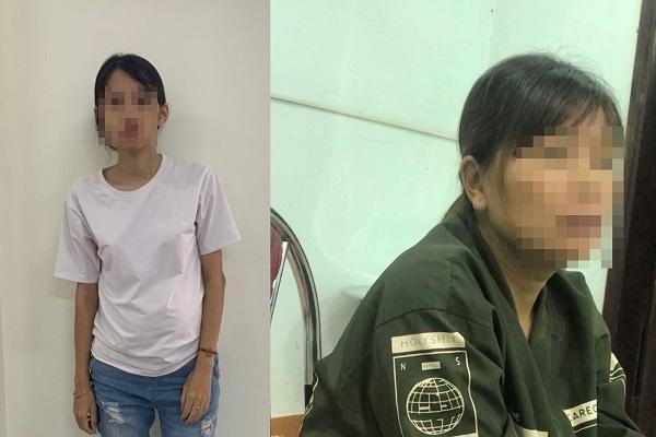 2 phụ nữ được giải cứu