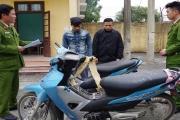 Khởi tố nhóm 9X chuyên trộm cắp xe máy