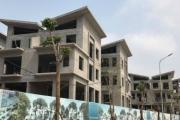 Cận cảnh loạt biệt thự 'xây chui' tại dự án Khai Sơn Hill