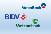 Mải miết đi tìm ngân hàng số 1: BIDV, VietinBank hay Vietcombank?