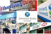 5 trường hợp chi nhánh ngân hàng nước ngoài bị phong tỏa vốn, tài sản
