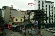 Công trình 'khủng' vượt tầng ngay cạnh UBND phường Thanh Nhàn?