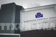 ECB cắt giảm lãi suất tiền gửi xuống mức thấp kỷ lục mới -0,5%