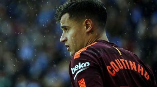 \'Bom tấn\' Coutinho liên tục gặp vận rủi ở Barcelona